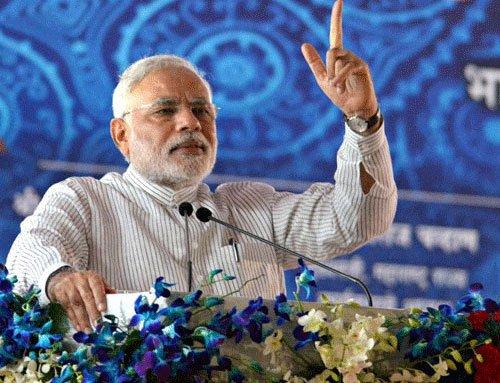 Modi slams Cong, seeks clear mandate for Haryana's development