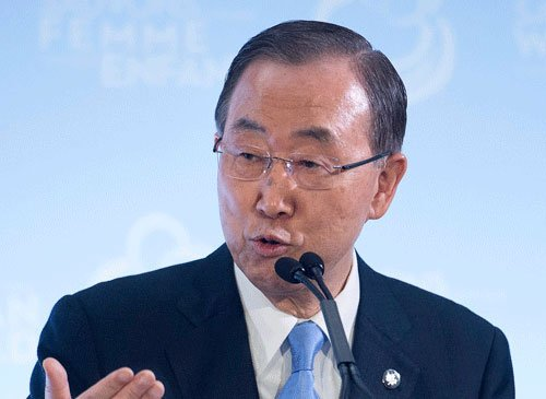 UN chief welcomes dialogue between two Koreas
