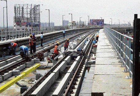 Metro begins trial run on Peenya-Jalahalli stretch