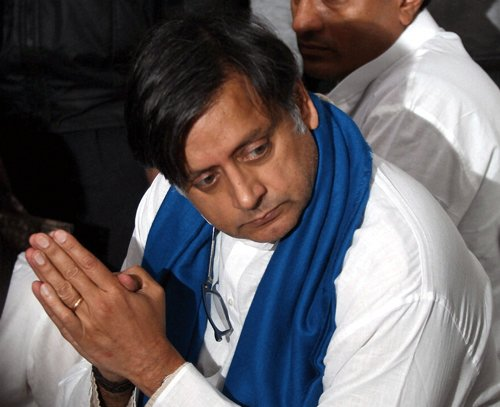 Tharoor dismisses talk of his getting close to BJP