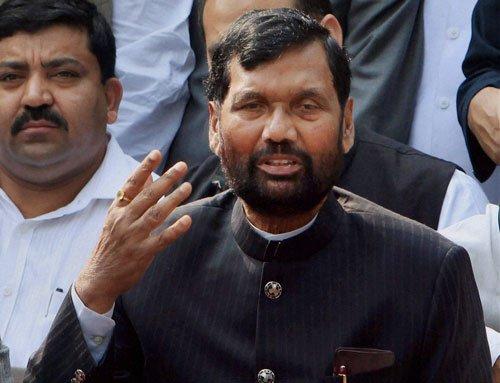 Paswan says NDA intact despite trouble in Maha, Haryana