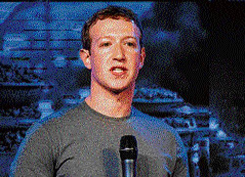 Connectivity is human right, says Zuckerberg