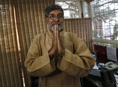 Nobel dedicated to country, will continue my fight: Satyarthi