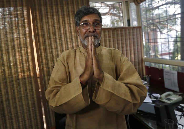 Website of Satyarthi's NGO crashes, his name trends on Twitter
