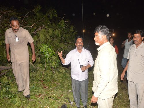 Damage due to cyclone runs in thousands of crores: Naidu