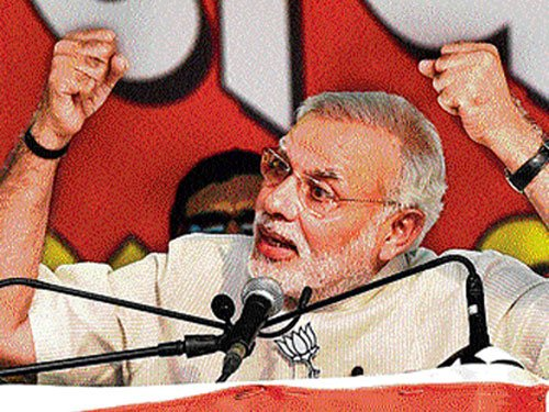 PM urges youth to ensure record voting in Maha, Harayana