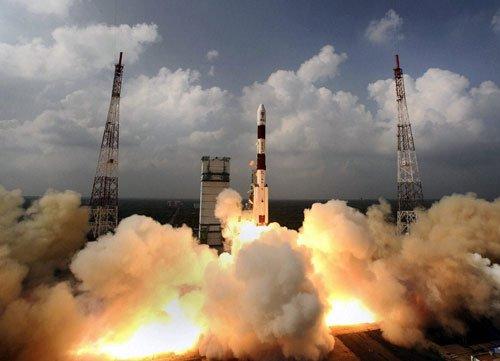 ISRO successfully launches IRNSS 1C navigation satellite