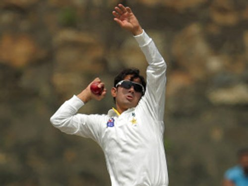 Ajmal bowls with revamped action under Saqlain's supervision