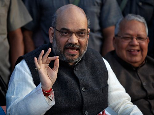 Amit Shah in UP to attend RSS conclave