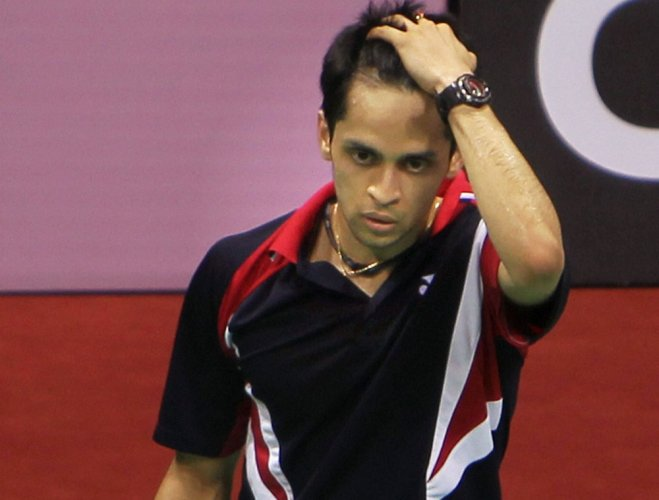 Kashyap suffers defeat in semifinals, Indian campaign ends