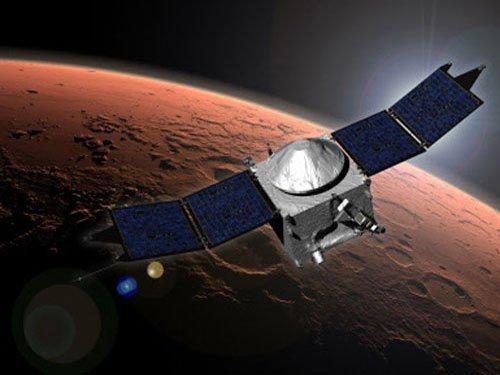 NASA Mars orbiters safe after comet flyby