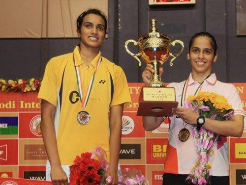 Saina, Sindhu in same half