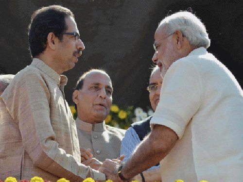 Sena gives in, set to join govt