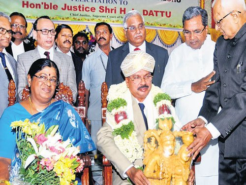 I won't let the Chair go to my head, vows CJI Dattu