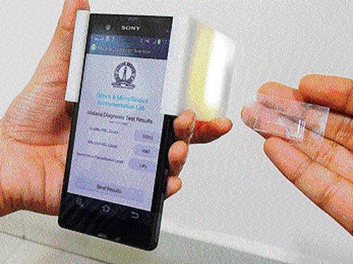 IISc develops hand-held device to detect malaria