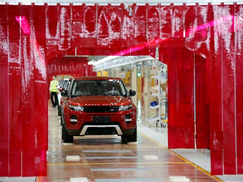 Tatas' launch Land Rover factory in China