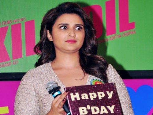 Parineeti unveils 'Kill Dil' song on birthday