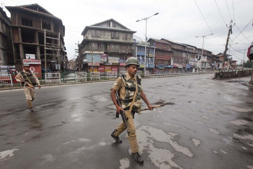 Partial response in Valley to strike call against Modi visit