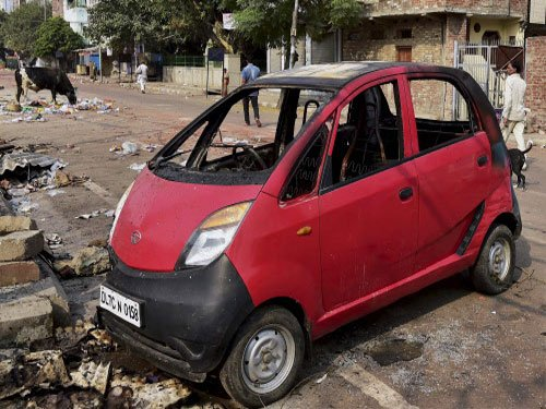 Tension prevails at Trilokpuri