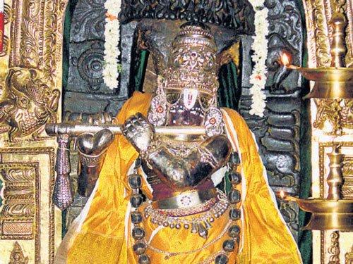 Where Krishna's flute beckons
