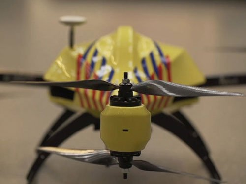 Ambulance drone to save heart attack victims