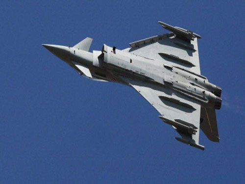Eurofighter can step in if talks with Rafale fails: UK