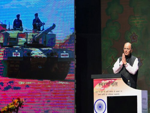 Need a structured war history of Indian soldiers: Jaitley