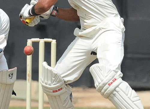 Central ride on strong opening stand to take 111 runs lead