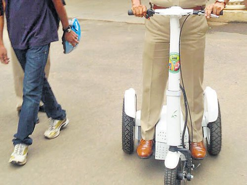 Irrway shows way for cops to  manage traffic in City
