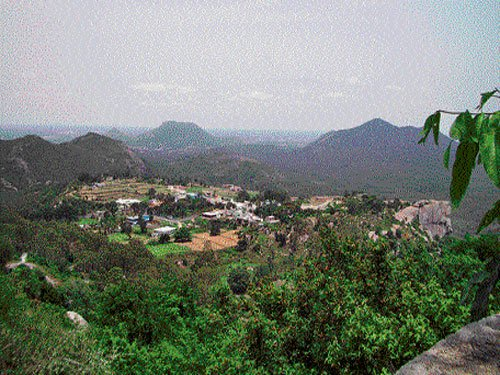 Shrines in the hills, valleys