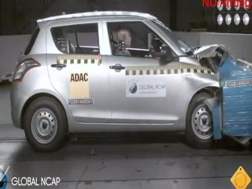 Swift, Datsun GO fail critical crash test