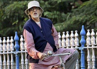 Amitabh's varied moods during 'Piku' shoot