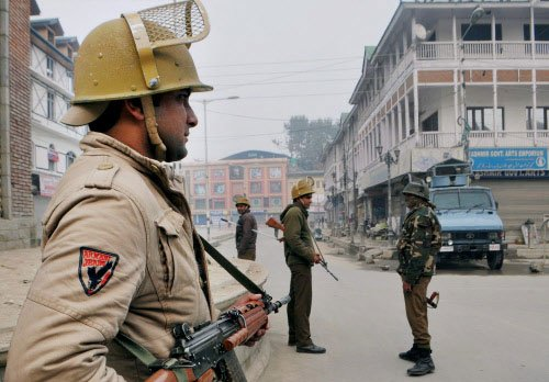 Restrictions in Srinagar as separatists call for shutdown