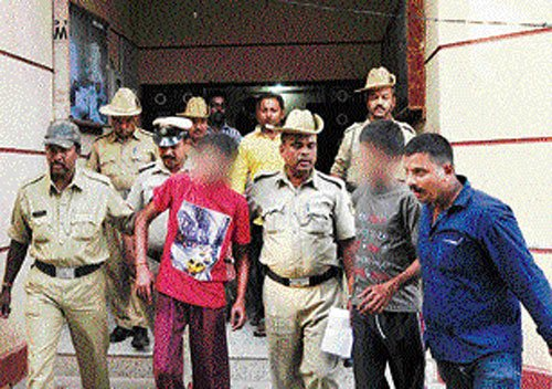 Juveniles held for raping 8-yr-old orphan