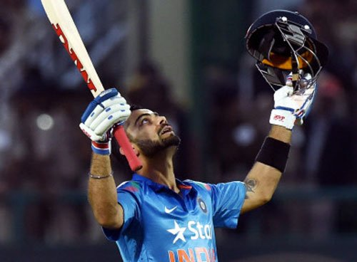 Kohli becomes quickest cricketer to reach 6000 runs in ODI