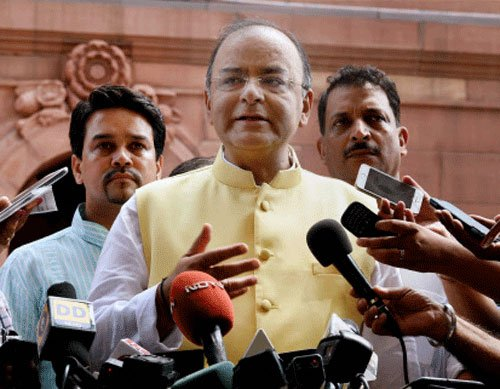 Some problems take care of themselves: Jaitley on Sena-BJP row
