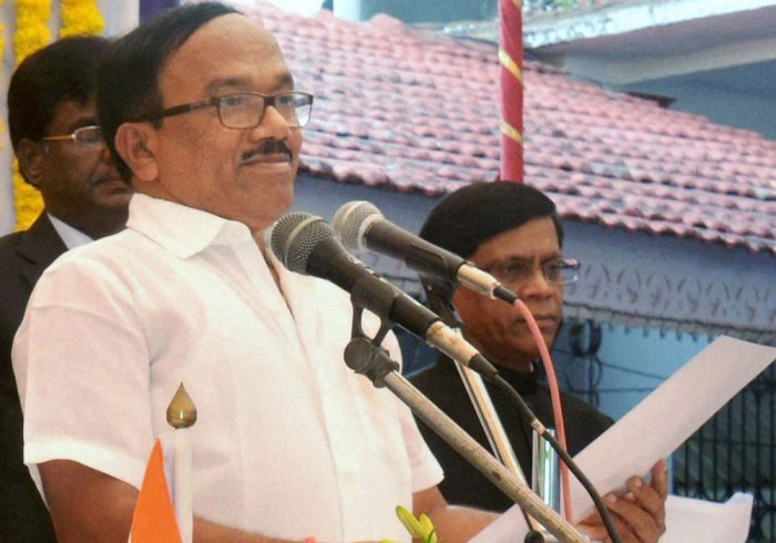 I will be BJP's face for next assembly polls: Parsekar
