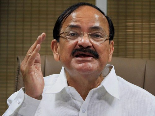 "No invite to Modi: Naidu accuses Cong of ""small-mindedness"""