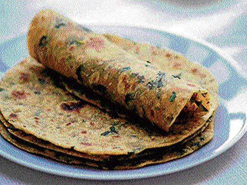How about soya-methi paranthas this season