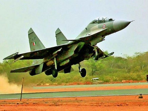 Sukhoi-30s cleared for flying after being grounded for a month
