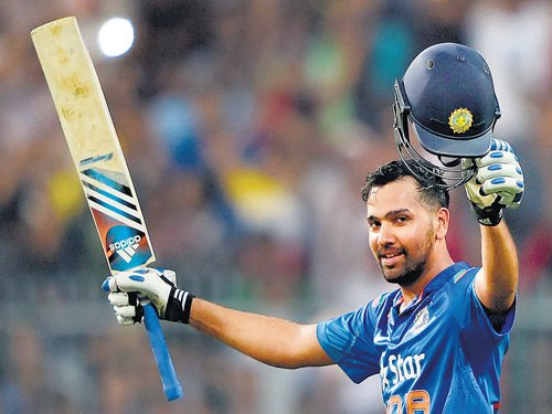 Rohit back with a bang