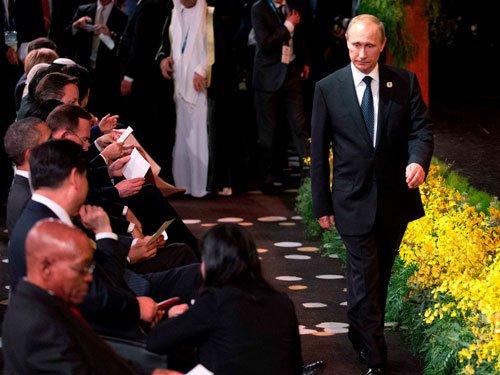Putin to quit G20 summit after rebukes over Ukraine