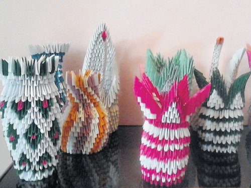 Vases with a twist