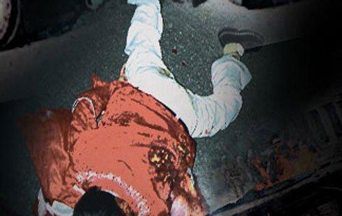 Eight bystanders killed as speeding truck overturns
