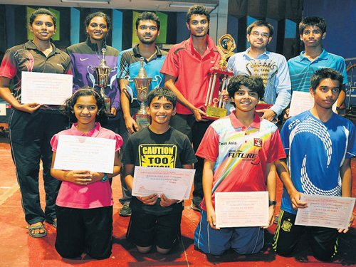 Anirbhan, Swetha win