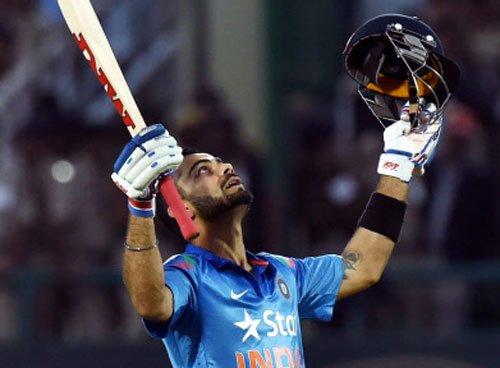 Kohli rises to No.2 in ODI rankings