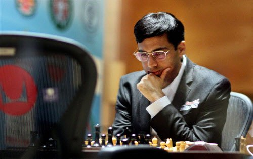 Anand salvages a draw after long game