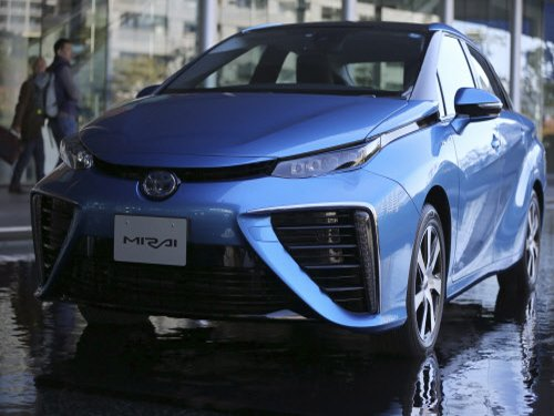 Toyota set to sell world's first hydrogen-powered car
