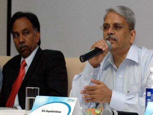 Shibulal, Gopalkrishnan launch biz incubator Axilor Ventures