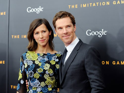 Cumberbatch makes maiden red carpet appearance with fiancee